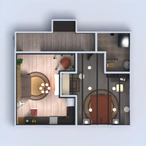 floorplans wohnung badezimmer schlafzimmer wohnzimmer küche architektur 3d