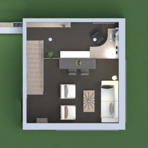 floorplans living room kitchen office dining room 3d