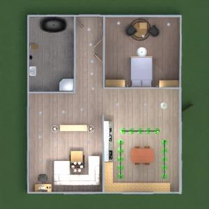 floorplans dom meble łazienka kuchnia 3d