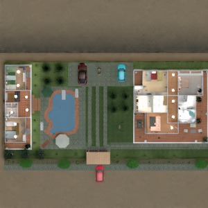 floorplans house landscape 3d