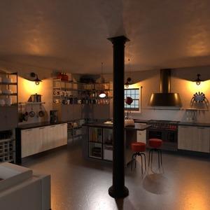 floorplans casa varanda inferior mobílias 3d