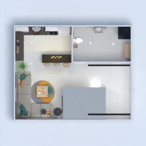 planos apartamento iluminación reforma estudio 3d
