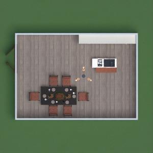 floorplans virtuvė valgomasis 3d