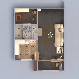 planos apartamento muebles decoración bricolaje cuarto de baño salón cocina despacho iluminación reforma trastero estudio descansillo 3d