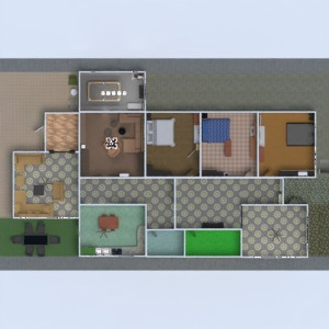 planos salón 3d
