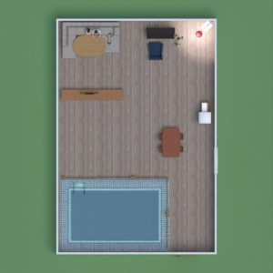 floorplans wohnung haus mobiliar wohnzimmer küche 3d