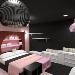 planos apartamento dormitorio trastero 3d