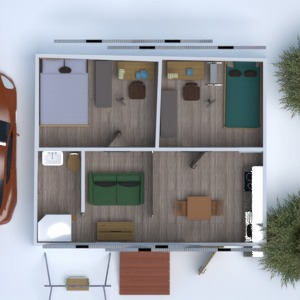floorplans bathroom bedroom kitchen kids room 3d