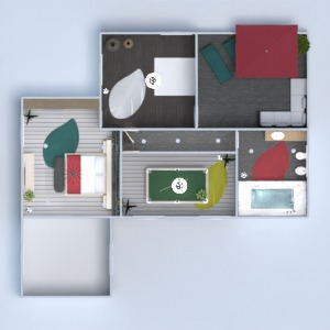 floorplans house terrace furniture decor lighting 3d