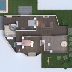 планировки дом 3d
