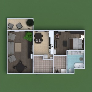floorplans apartment furniture decor bathroom bedroom living room kitchen outdoor household architecture 3d