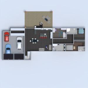 floorplans dom taras meble łazienka sypialnia pokój dzienny garaż kuchnia pokój diecięcy remont jadalnia przechowywanie 3d