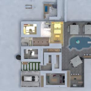 floorplans namas vonia miegamasis eksterjeras vaikų kambarys 3d