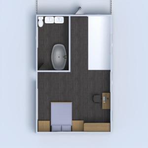 floorplans house furniture bathroom garage kitchen 3d