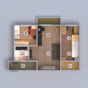 floorplans wohnung mobiliar dekor do-it-yourself badezimmer schlafzimmer wohnzimmer küche beleuchtung renovierung haushalt lagerraum, abstellraum eingang 3d