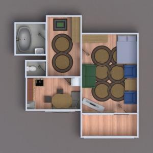 floorplans apartment house diy renovation 3d
