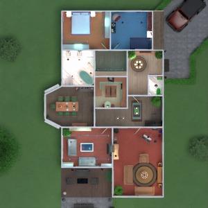 floorplans butas namas terasa dekoras vonia miegamasis svetainė virtuvė eksterjeras vaikų kambarys valgomasis аrchitektūra 3d