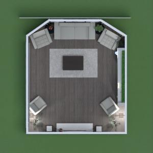 floorplans furniture decor living room lighting landscape 3d