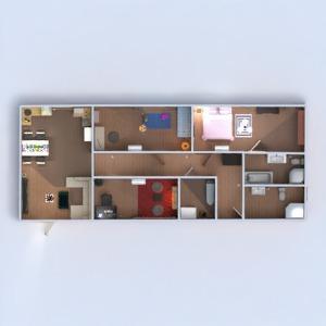 planos apartamento casa muebles decoración bricolaje 3d