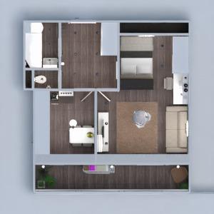 planos apartamento muebles decoración bricolaje cuarto de baño dormitorio salón cocina iluminación reforma trastero descansillo 3d