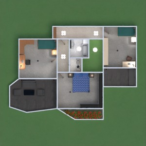 floorplans house living room dining room architecture 3d