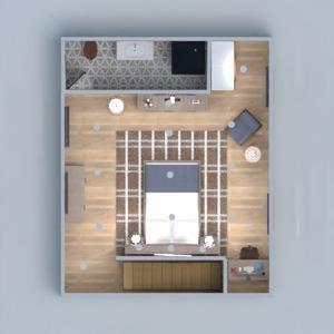 планировки дом спальня гостиная кухня архитектура 3d