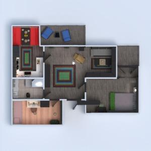 floorplans wohnung mobiliar dekor do-it-yourself badezimmer schlafzimmer wohnzimmer küche kinderzimmer esszimmer 3d