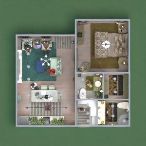 floorplans dom meble wystrój wnętrz 3d