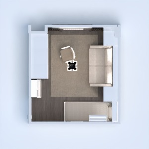 floorplans apartment furniture bedroom living room storage 3d
