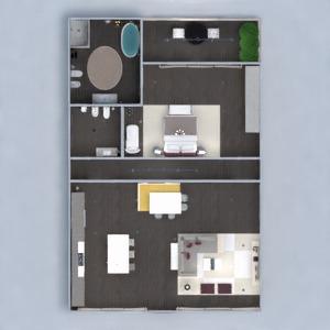 progetti appartamento decorazioni angolo fai-da-te camera da letto rinnovo sala pranzo 3d