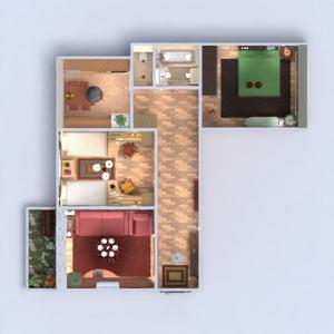 planos apartamento muebles decoración bricolaje cuarto de baño dormitorio salón cocina habitación infantil iluminación reforma trastero descansillo 3d