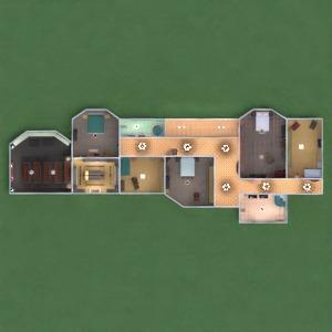 floorplans casa decoração casa de banho dormitório quarto garagem cozinha área externa escritório iluminação sala de jantar despensa patamar 3d