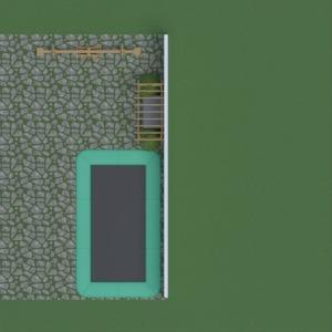 floorplans eksterjeras kraštovaizdis 3d