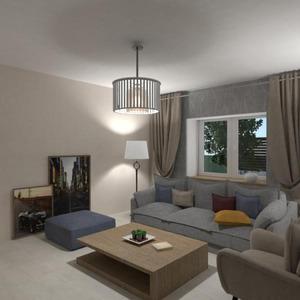 floorplans apartment house living room kitchen studio 3d