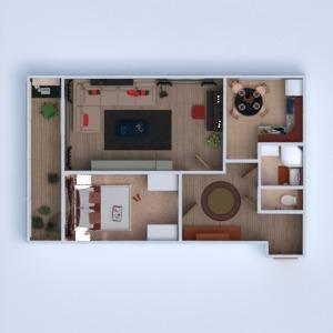 планировки квартира 3d