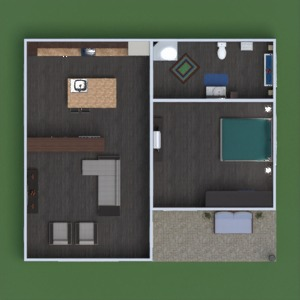 floorplans house bathroom living room kitchen entryway 3d