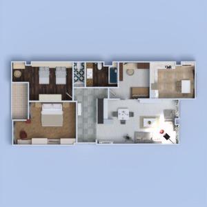 planos apartamento muebles decoración bricolaje cuarto de baño dormitorio salón cocina habitación infantil iluminación reforma comedor arquitectura descansillo 3d