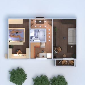 floorplans butas pasidaryk pats miegamasis svetainė renovacija 3d