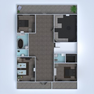 floorplans house landscape household architecture 3d