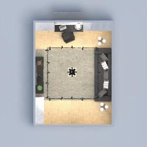 floorplans mieszkanie meble sypialnia biuro oświetlenie remont 3d