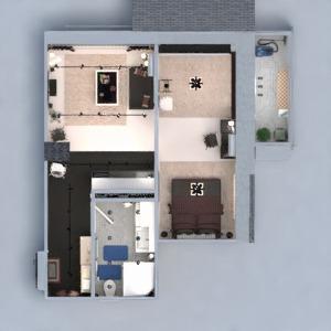 planos apartamento muebles decoración bricolaje cuarto de baño dormitorio salón cocina iluminación reforma hogar comedor trastero estudio descansillo 3d