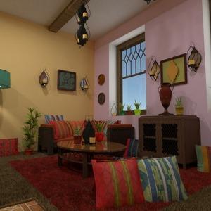 progetti arredamento decorazioni saggiorno cucina sala pranzo 3d