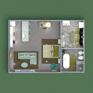 floorplans decor bedroom studio 3d