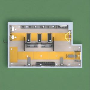 floorplans wystrój wnętrz oświetlenie kawiarnia 3d