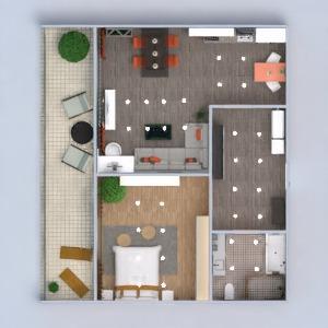floorplans apartamento varanda inferior mobílias decoração faça você mesmo casa de banho dormitório quarto cozinha iluminação reforma utensílios domésticos sala de jantar arquitetura despensa estúdio patamar 3d