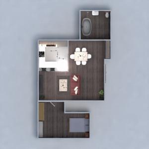 планировки квартира дом мебель декор 3d
