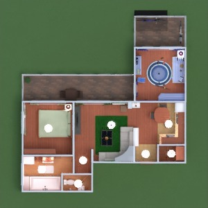 floorplans apartment terrace furniture decor bathroom bedroom living room kitchen kids room storage 3d