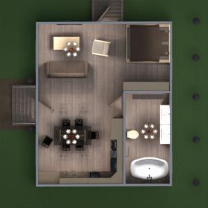 floorplans haus mobiliar dekor wohnzimmer küche beleuchtung landschaft architektur eingang 3d
