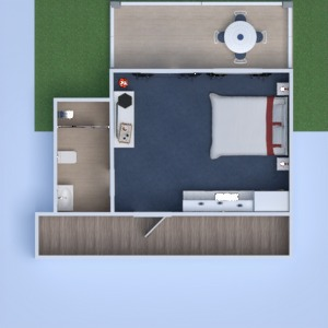 floorplans bathroom bedroom kitchen 3d