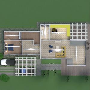 floorplans casa terraza muebles decoración cuarto de baño dormitorio salón cocina exterior reforma paisaje arquitectura 3d